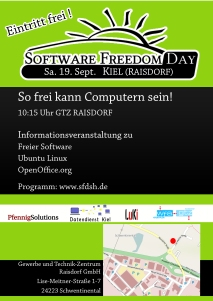 Software Freedom Day 2009 Flyer